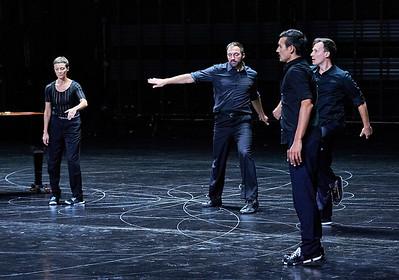 Oct. 13, 2016 - New York, NY  Anne Teresa De Keersmaeker's U.S. premiere of Vortex Temporum  Rosas & Ictus at the BAM Howard Gilman Opera House in Brooklyn. Music by Gerard Grisey