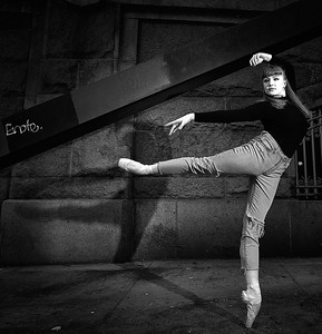 March 24, 2019 - New York, NY - Ashlyn Mae /ARTEK Ballet UES NYC  Photographer- Robert Altman Post-production- Robert Altman