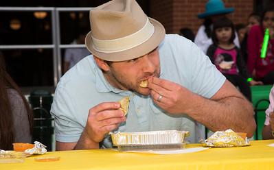 Dumpling eating contest