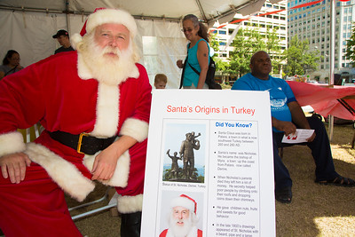 Stephen Lintner explains Santa's Origins in Turkey