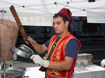 Emre from Mezè Mediterranean restaurant located in Adams Morgan