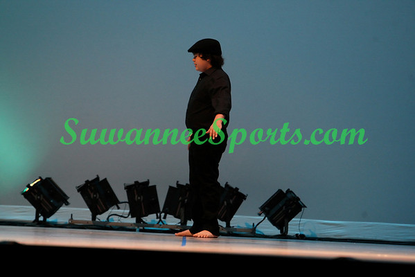 Audience of One Dance Studio - Panama City Florida - Dance Show 2011 Rehersal