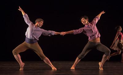 Dancers (L/R): Dustin Kimball, Junichi Fukuda Photo by: Jeff Malet - Tableaux de Provence