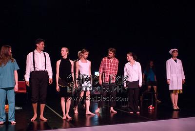 'Elegy'performed by Agnieszka Laska Dancers and Justin Kagan (cello). Music by Jack Gabel, choreography by Agnieszka Laska. Bach to Bloch -- Portland Mini-Fest, International de Danse.