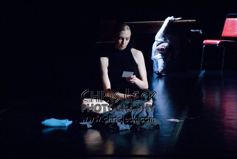 Allegra Carlson and Michelle Rogers in 'Elegy' performed by Agnieszka Laska Dancers