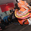 Ballet Folklorico Mexico Lindo at Eat Restaurant in Hammond, Indiana for a performance to celebrate the Day of the Dead