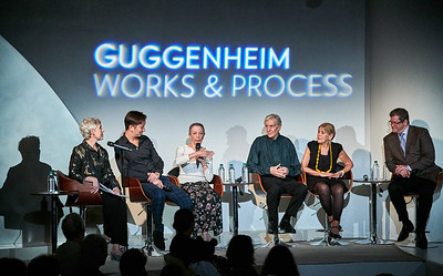 "Sept.29,  2019 - New York, NY   The Guggenheim Museum's Works and Process series presents- Ballet West: Balanchine's Ballets Russes ""Le Chant du Rossignol"" and ""Apollo""  This production marks its U.S. premiere and designates Ballet West as the second company in the world to present this important reconstruction by Millicent Hodson and Kenneth Archer. Prior to the work's October premiere in Salt Lake City, Ballets Russes expert Lynn Garafola, Professor Emerita of Dance, Barnard College, Columbia University, moderates a discussion with Hodson, Archer, Ballet West Artistic Director Adam Sklute, and Balanchine Trust repetiteur Victoria Simon.   Dancers- Allison DeBona, Adrian Fry, David Huffmire, Emily Neale, Kazlyn Nielsen,Sayaka Ohtaki, Jordan Richardson, Rex Tiltin, Joshua Whitehead   Photographer- Robert Altman Post-production- Robert Altman"