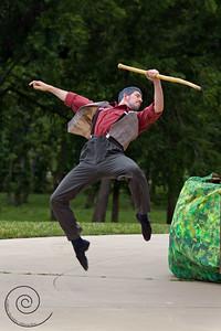 Peter & the Wolf, Ballet in the Park ~ Ballet Wichita 2012