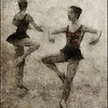 Knee High.<br /> Members of the Copenhagen City Ballet.<br /> Photo painted with digital pen brush in Dynamic Auto Painter.