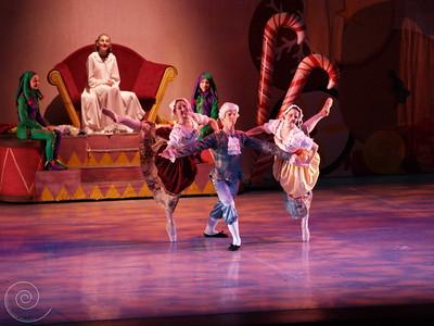 Ballet Wichita, Nutcracker 2007, choreographed by Jill Landrith Ewonus, Mirliton Variation