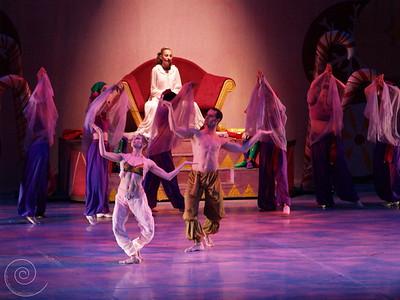 Ballet Wichita, Nutcracker 2007, choreographed by Jill Landrith Ewonus, Arabian Variation