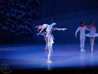Ballet Wichita, Nutcracker 2007, Snow Scene