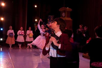 Ballet Wichita, Nutcracker 2009, Party Scene