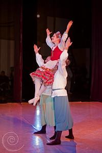 Ballet Wichita, Nutcracker 2010, Russian Variation