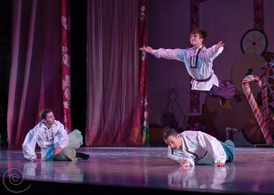 Ballet Wichita, Nutcracker 2011, choreographed by Jill Landrith Ewonus, Russian Variation