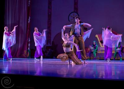 Ballet Wichita, Nutcracker 2011, choreographed by Jill Landrith Ewonus, Arabian Variation