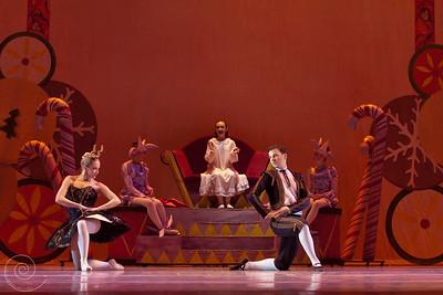 Ballet Wichita, Nutcracker 2012, choreographed by Jill Landrith Ewonus, Spanish Variation