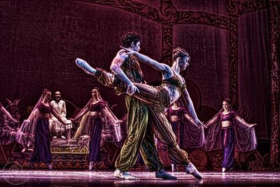 Ballet Wichita, Nutcracker 2012, choreographed by Jill Landrith Ewonus, Arabian variation
