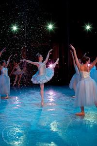 Ballet Wichita, Nutcracker 2012, choreographed by Jill Landrith Ewonus, Snow Scene