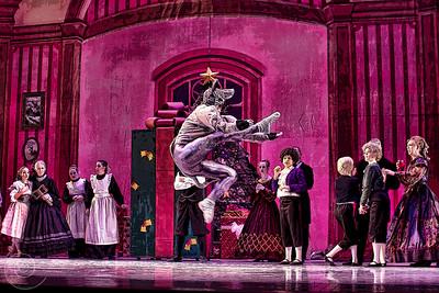 Ballet Wichita, Nutcracker 2012, choreographed by Jill Landrith Ewonus, Party Scene