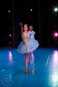 Ballet Wichita, Nutcracker 2012, Snow Scene