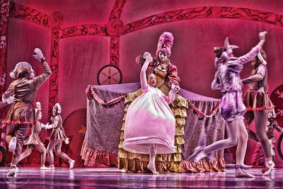 Ballet Wichita, Nutcracker 2012, choreographed by Jill Landrith Ewonus, Mother Ginger Variation