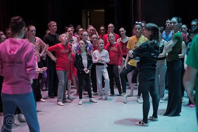 Ballet Wichita 2013 Nutcracker, Company Class