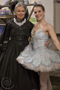 Ballet Wichita 2013 Nutcracker, Green Room