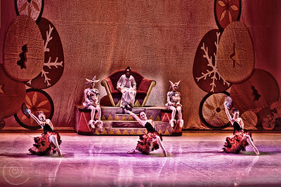 Ballet Wichita 2013 Nutcracker ~ Spanish Variation