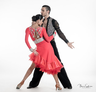 Arthur Aleksandrov and Anna Antonyan - Ballroom dance performers