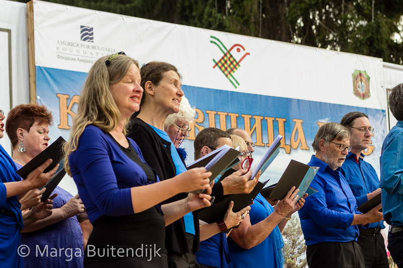 Balkankoor uit Nederland in Koprivshtitsa