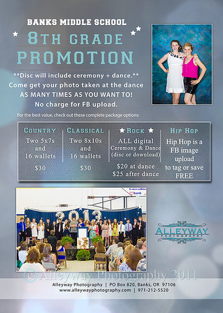 Banks 8th Grade Promotion/Dance 2014 + ORDER INFO