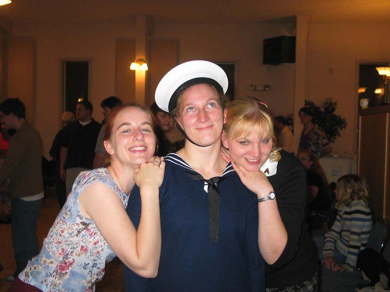 Deborah, Sophia and Heather