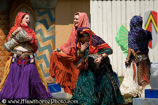 Performance photos of Awalim at the Georgia Renaissance Festival on May 13, 2007