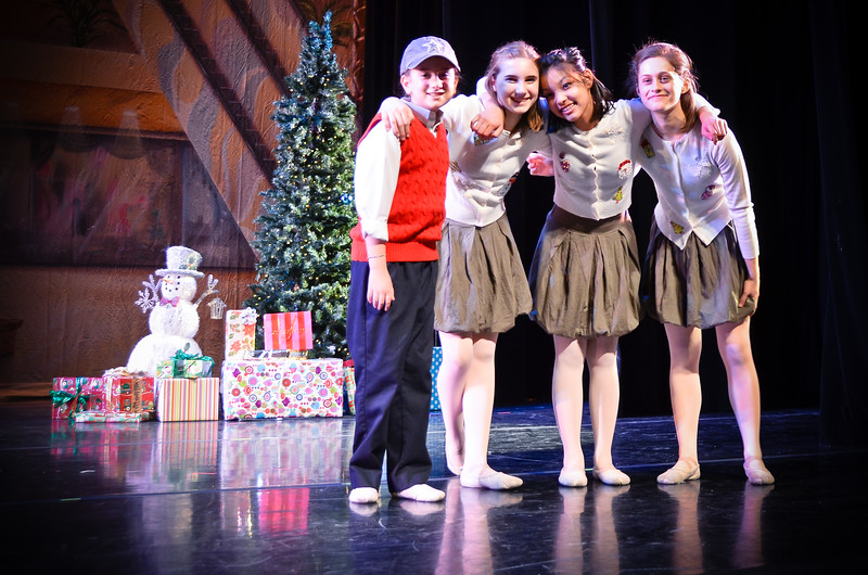 Boogie Woogie Christmas Carol, Contemporary Ballet Dallas