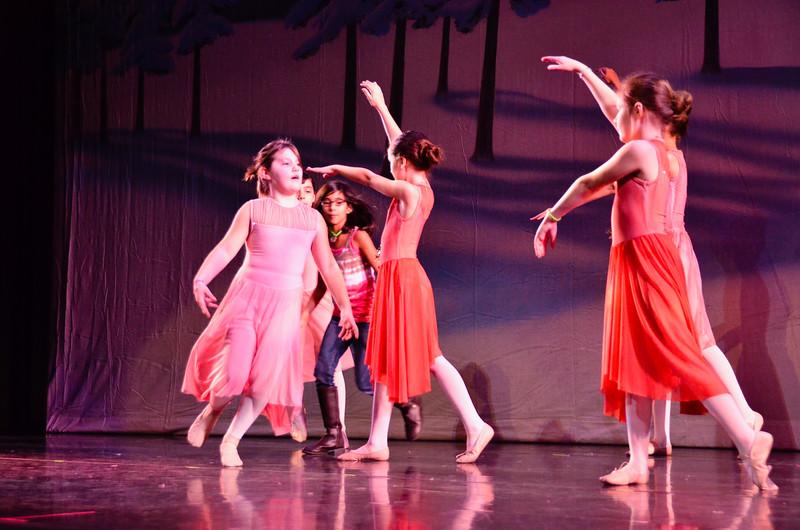 Boogie Woogie Christmas Carol, Contemporary Ballet Dallas, Poinsettias
