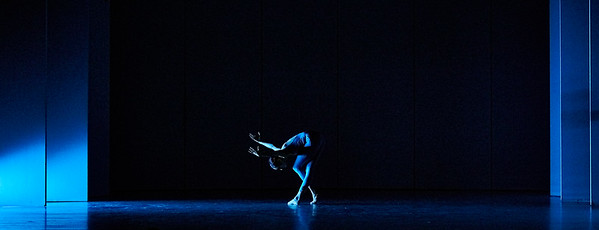 Jan. 20, 2019 - New York, NY - The Guggenheim Museum's Works and Process series presents Choreography of Light by Brandon Stirling Baker, with Jamar Roberts, Sarah Daley, and Patricia Delgado  Explore the past, present, and future of lighting for ballet with visual artist and Boston Ballet lighting director Brandon Stirling Baker. A frequent collaborator with choreographer Justin Peck and a diverse group of artists including Anthony Roth Costanzo, Benjamin Millepied, Sufjan Stevens, Jamar Roberts, Michelle Dorrance, Emery LeCrone, and Shepard Fairey, Baker will present the world premiere developed through the Center for Ballet and the Arts at New York University. Inspired by the close relationship between choreography and lighting design, this program will features an excerpt of brand-new choreography by Justin Peck for an upcoming Houston Ballet premiere performed by Chun Wei Chan, Harper Watter, and Jessica Collado; along with new music by Sufjan Stevens; and new choreography by Jamar Roberts performed by Patricia Delgado, Sarah Daley, and Taylor Stanley.  Photographer- Robert Altman Post-production- Robert Altman