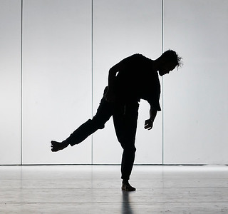 Jan. 16, 2019 - New York, NY - The Guggenheim Museum's Works and Process series rehearsal for Choreography of Light by Brandon Stirling Baker, with Jamar Roberts, Sarah Daley, and Patricia Delgado  Explore the past, present, and future of lighting for ballet with visual artist and Boston Ballet lighting director Brandon Stirling Baker. A frequent collaborator with choreographer Justin Peck and a diverse group of artists including Anthony Roth Costanzo, Benjamin Millepied, Sufjan Stevens, Jamar Roberts, Michelle Dorrance, Emery LeCrone, and Shepard Fairey, Baker will present the world premiere developed through the Center for Ballet and the Arts at New York University. Inspired by the close relationship between choreography and lighting design, this program will features an excerpt of brand-new choreography by Justin Peck for an upcoming Houston Ballet premiere performed by Chun Wei Chan, Harper Watter, and Jessica Collado; along with new music by Sufjan Stevens; and new choreography by Jamar Roberts performed by Patricia Delgado, Sarah Daley, and Taylor Stanley.  Photographer- Robert Altman Post-production- Robert Altman