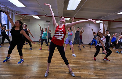 Broadway Themed Dance Workout - NY Times