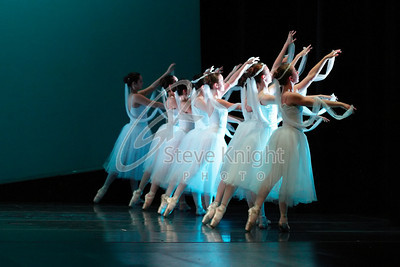 Burklyn Ballet Theatre dress rehearsal at Dibden Auditorium at Johnson State College on 7-23-2010.