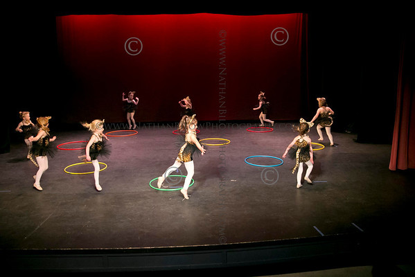 Crested Butte School of Dance students perform their 'Circus Time' rehearsal at the Crested Butte Center for the Arts in Crested Butte, Colo. on Thursday, May 2, 2013. (Photo/Nathan Bilow)