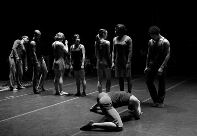 "Cedar Lake Dance Perform ""The Copier"" (  B&W Images )"