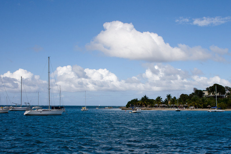 Christiansted harbor, St. Croix.
