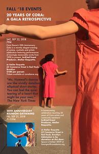 FINAL CORA season brochure 20th anniversary for Savemor FINAL7