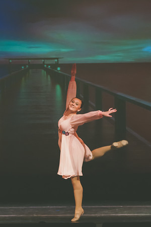 DANCE 2018: Dress Rehearsal from Audience and Recital from side-stage