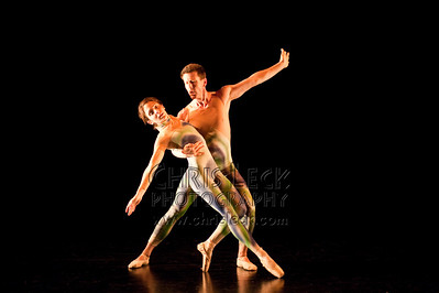 'One Second' rehearsed by Amanda France & Russel Capps. Choreography: Russell Capps.
