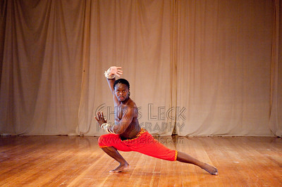 'Man on Fire' choreographed and performed by Richard Sokpor