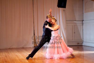 'The Waltz' choreographed and performed by Rachel Lidskog & Daniel Hutchison