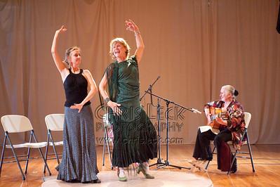 'Bulerias por Fiesta' choreographed and performed a la Pamela, Lynn de LaTorre, & Abby. Guitar: Elana de Silvano. Singer: Jaquelina