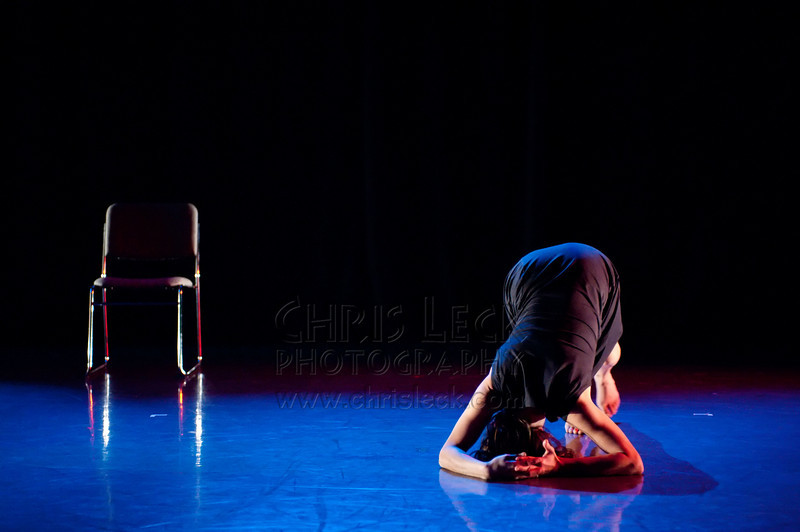 'Turn Inside Out to Wash' choreographed and performed by Celine Bouly